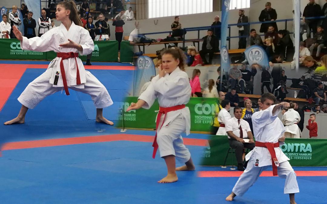 Erfolgreiche Teilnahme der Trostberger Karateka in Burgkirchen
